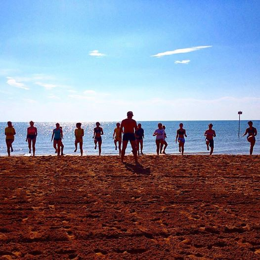 preparazione-in-spiaggia
